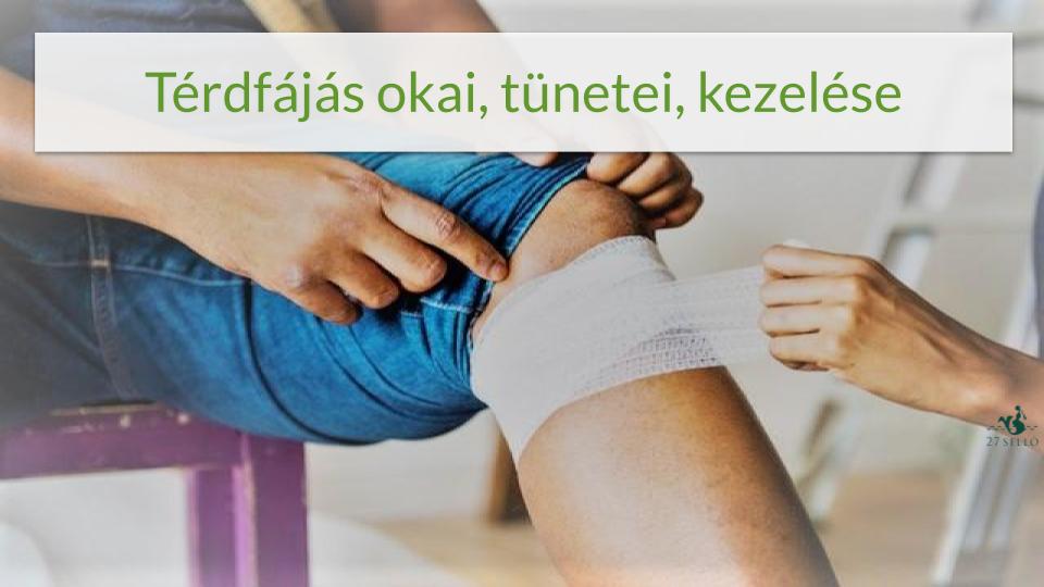 térdízület fáj, mit kell tennie)