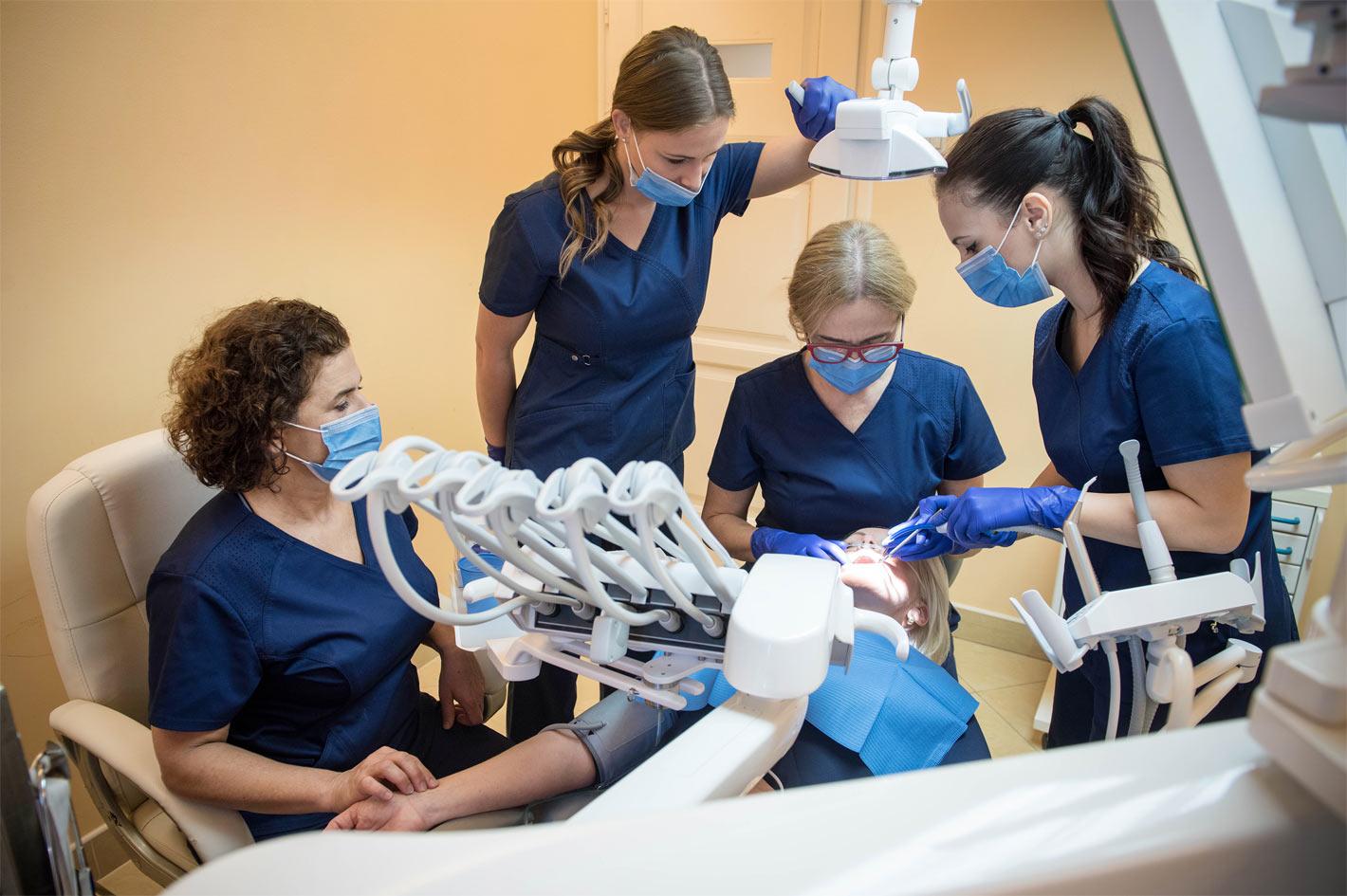 fogászati közös kezelés