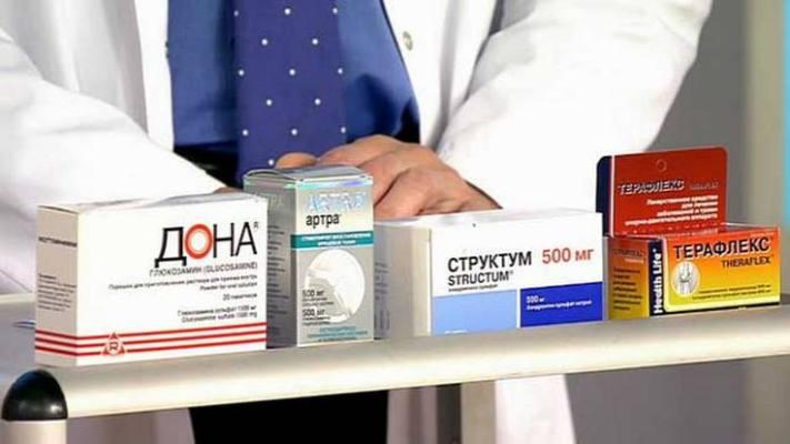 együttes kezelés kondroprotektorokkal)