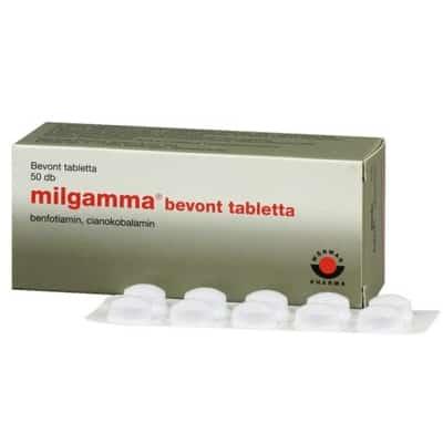 gyógyszer osteochondrosis milgamma áron)