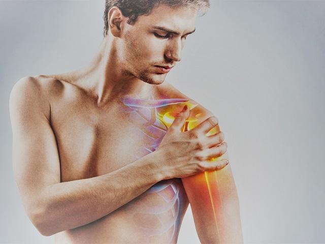 fájdalom a vállízületben és az izmok duzzanata