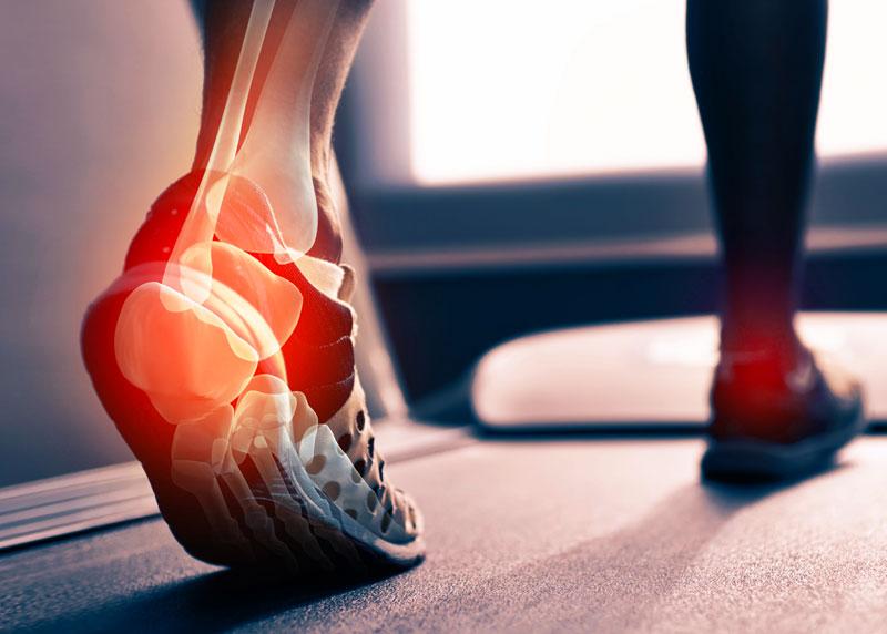 fájdalom és gyulladás a bokaízületben