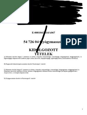 kórtörténet térd ligamentum károsodása)