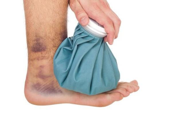 hogyan kezeljük a boka ligamentum-repedését)