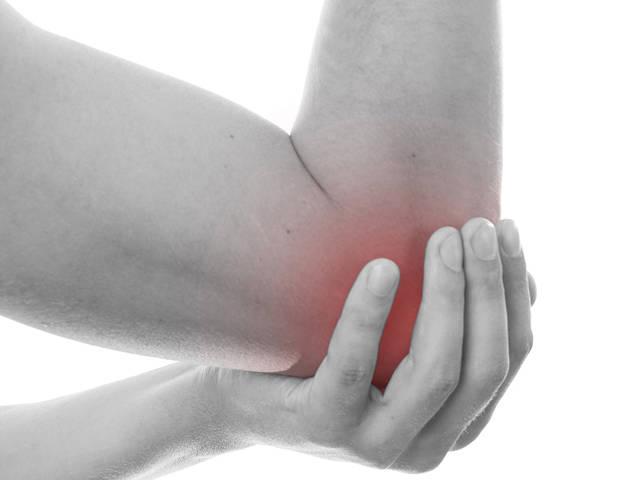 fájdalom a könyökízületben és a karban gerinc és ízületi betegség helyén