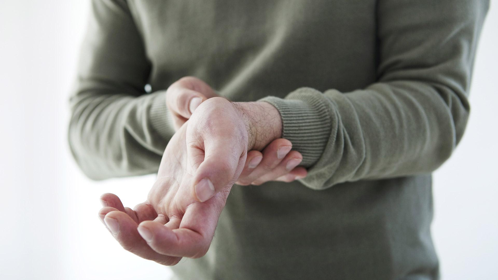 hogyan működik az ujjak ízületi gyulladása