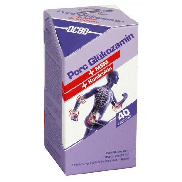 glukózamin-kondroitin a szalagok számára)
