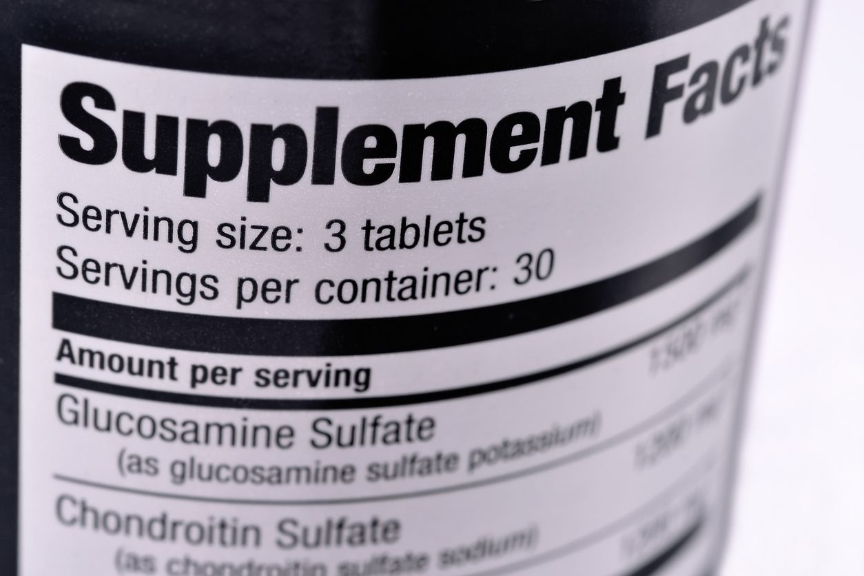 Cápaolaj kondroitin és glükózamin - Rehabilitáció