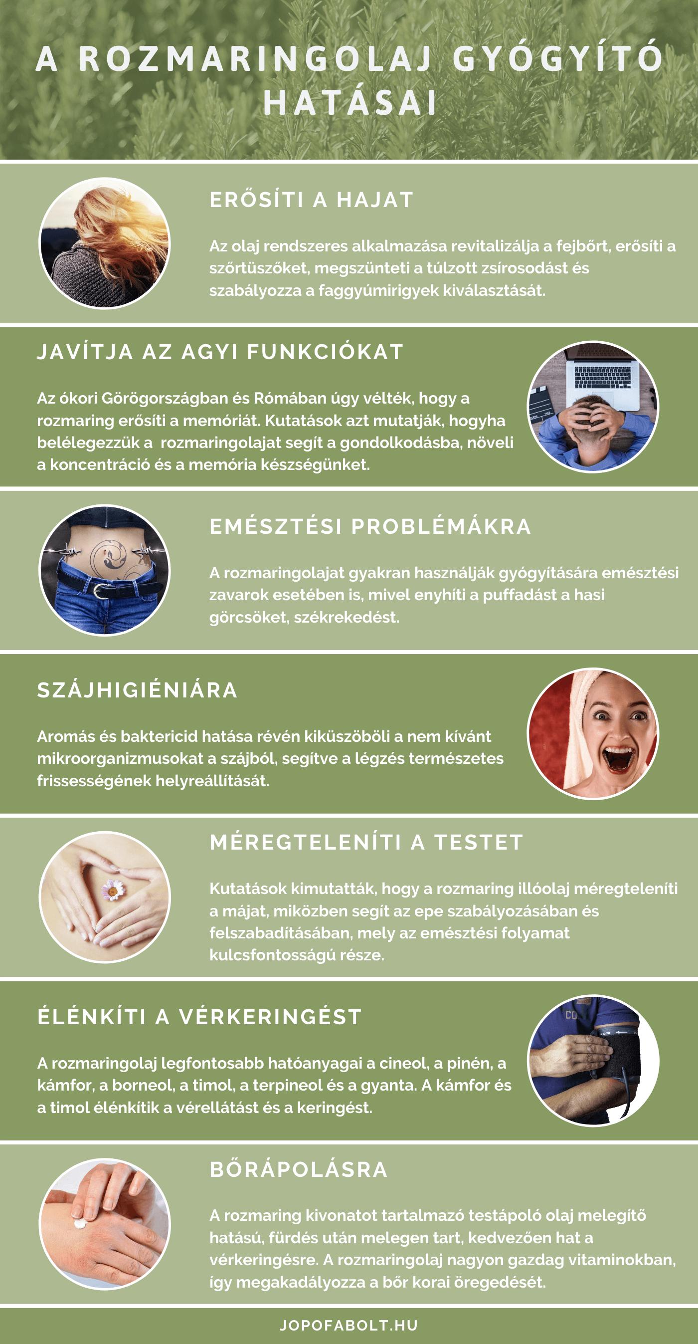 rozmaringolaj ízületi fájdalmak kezelésére)