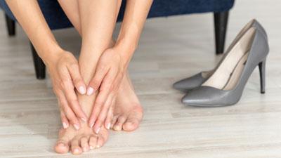 ízületi fájdalom a láb alatt