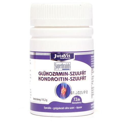 glükózamin vagy kondroitin, amely jobb ízületi gyulladás ízületi só kezelése