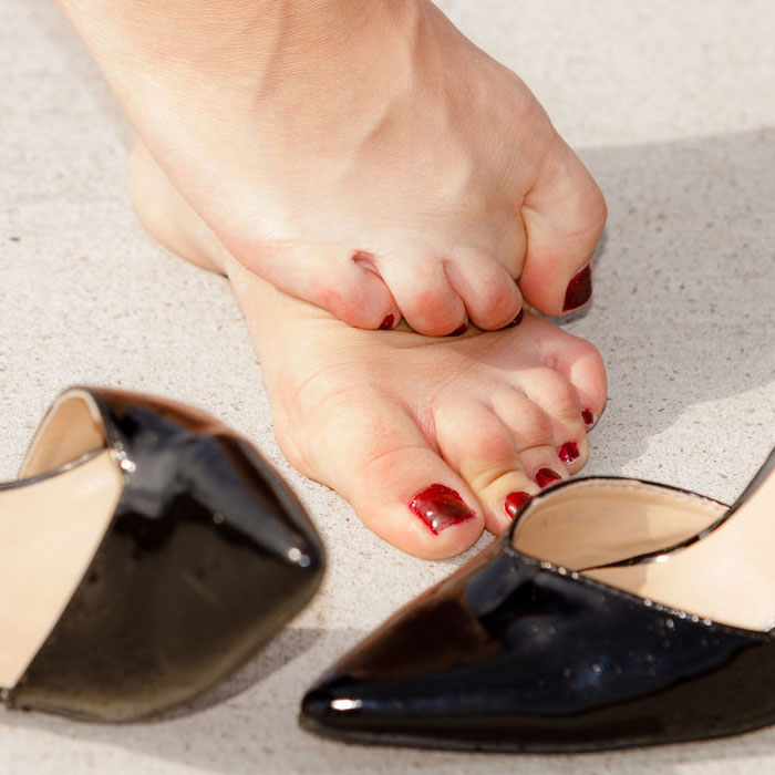 kényelmetlen cipő ízületi fájdalom
