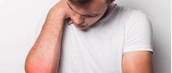 kicsavart könyökízület-kezelés