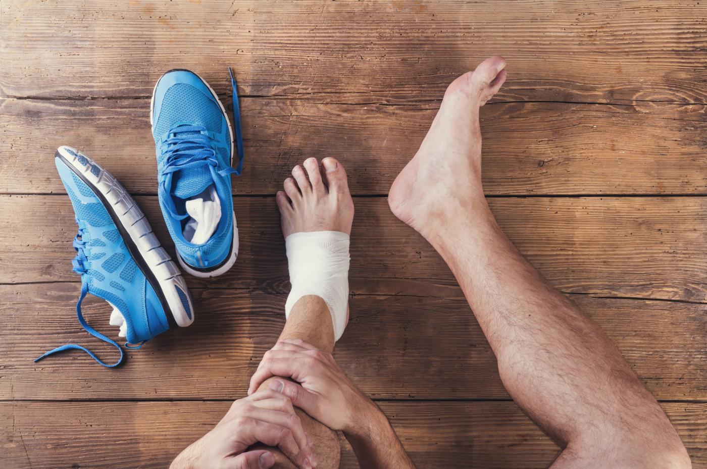 futó boka sérülés