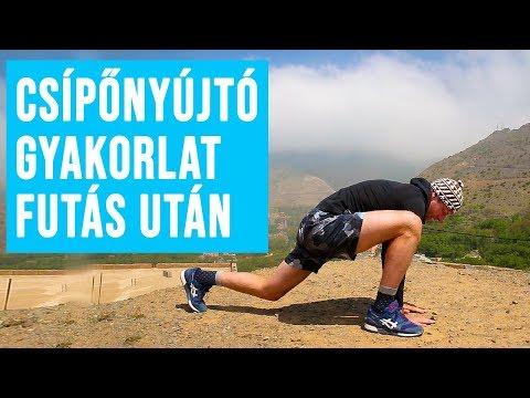 ha a csípőízületek fájnak a futás után