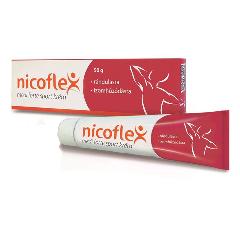 Nicoflex 0,15 mg/20 mg/90 mg kenőcs 50g | BENU Online Gyógyszertár