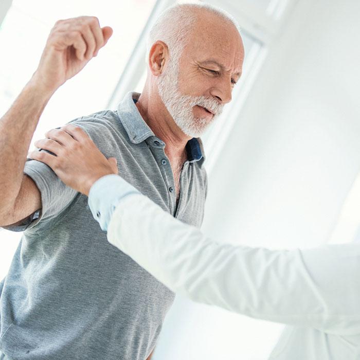 artrózis esetén felmelegítheti a vállízületet)