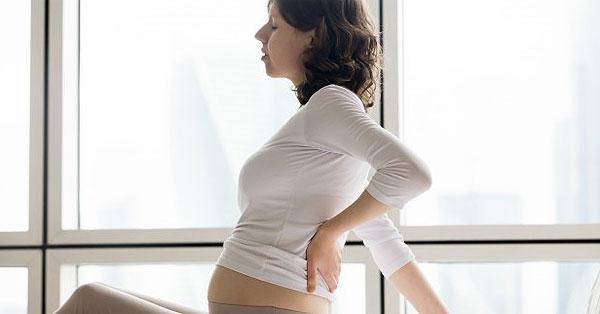 derékfájás menstruáció előtt terhesség