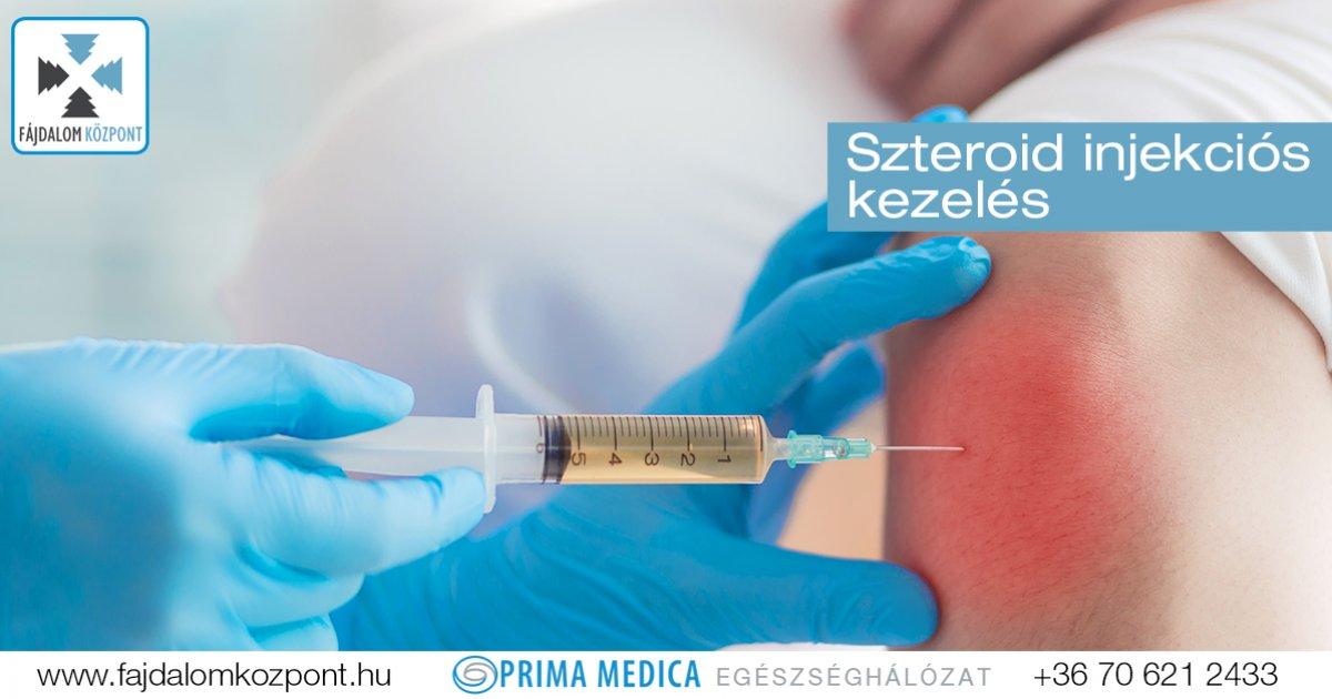 ízületi fájdalom injekciók gyógyszer