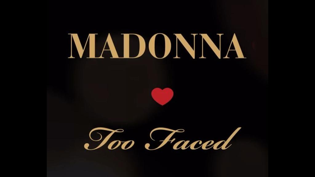 Madonnával készített közös sminkszettet a Too Faced