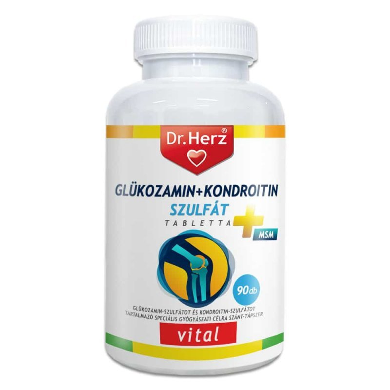 JutaVit Glükozamin+Kondroitin filmtabletta 144 db
