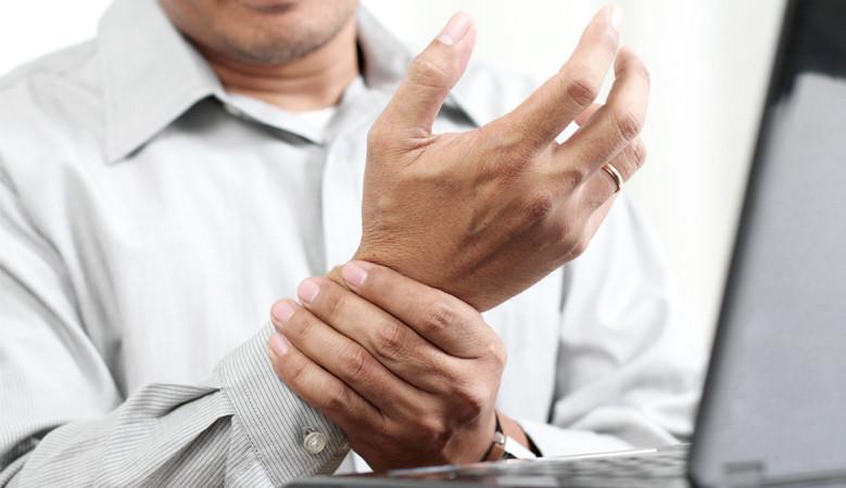 számítógépes és ízületi betegségek ízületi és térdfájdalomkezelés