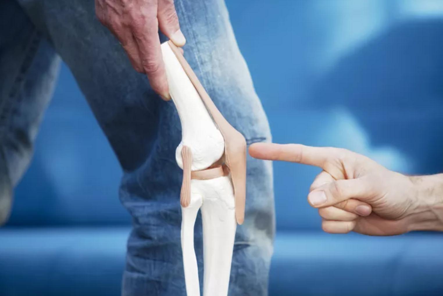 térdfájdalom és műtét