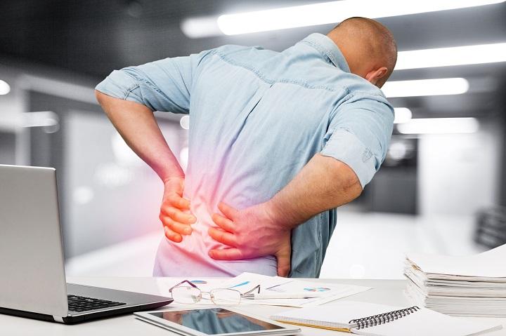 ízületi fájdalom ülő munka során