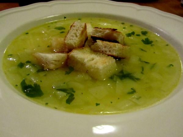 közös kezelés hagyma leves