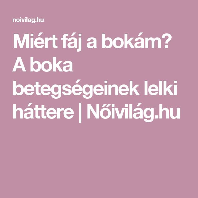 fáj a bokám)
