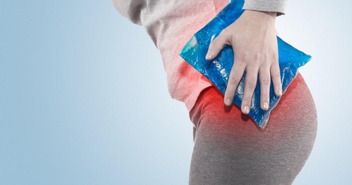csípőízület fájdalom a fenék alatt