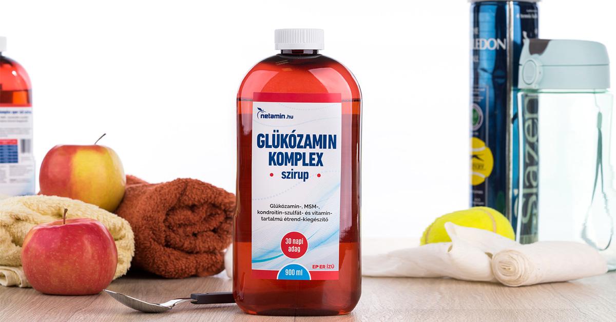 glükózamin és kondroitin folyékony formában)
