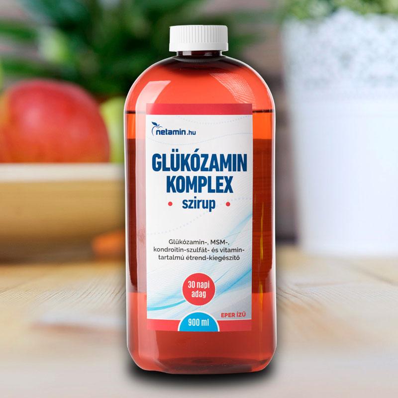 glükózamin és kondroitin tartalom)