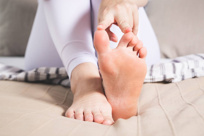 a lábízület fáj, ahol a nagy lábujj