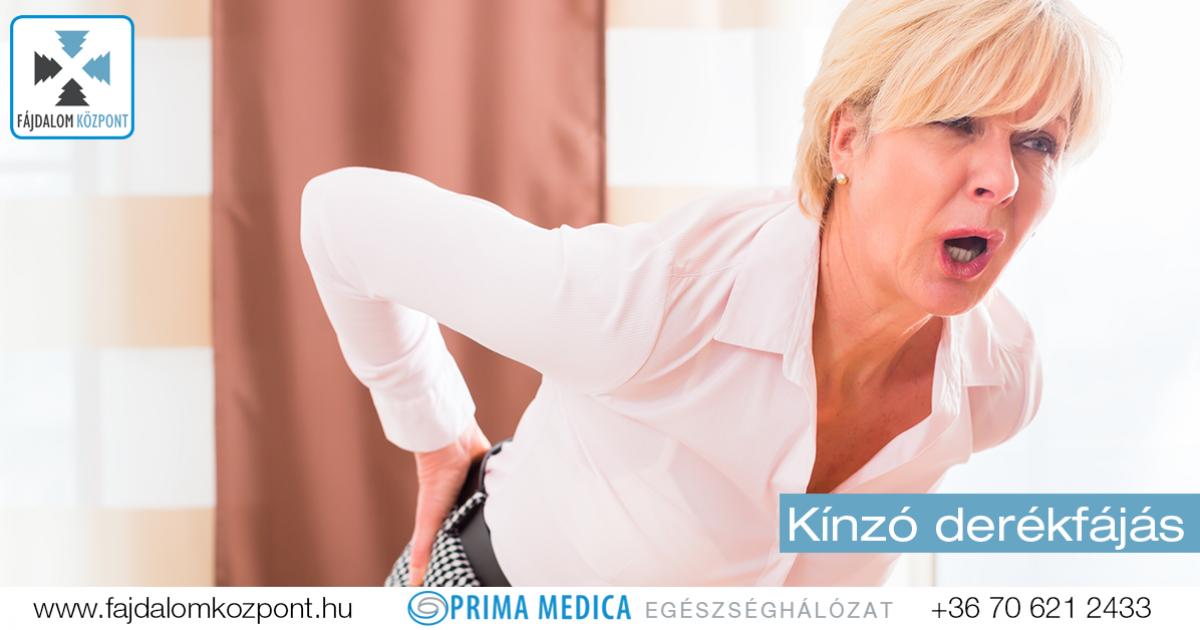 derékfájdalom kezelése házilag)