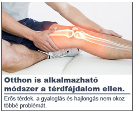 térd gyulladás kezelése)