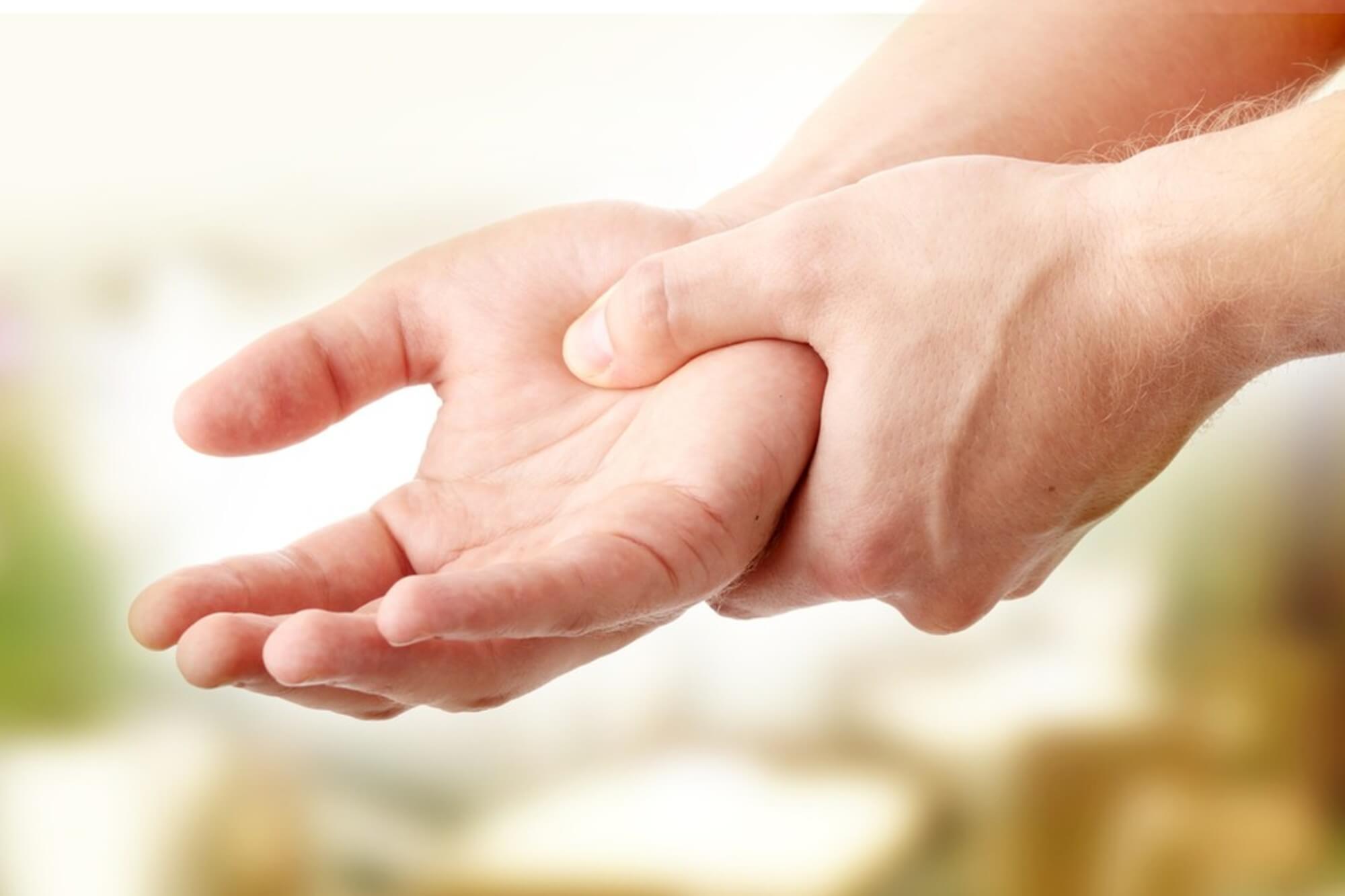 ujj zsibbadás edzett ízületek hogyan kell kezelni