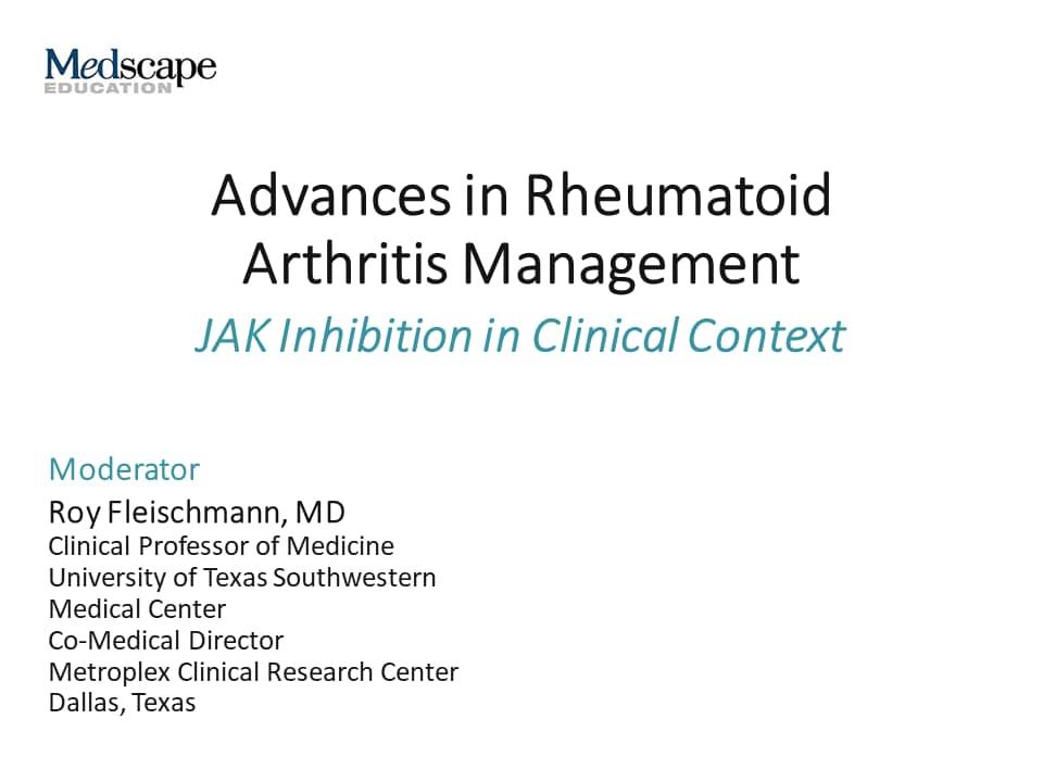 rheumatoid arthritis medscape treatment)