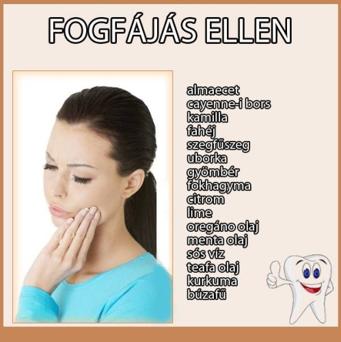 fogfájás elleni fájdalomcsillapító