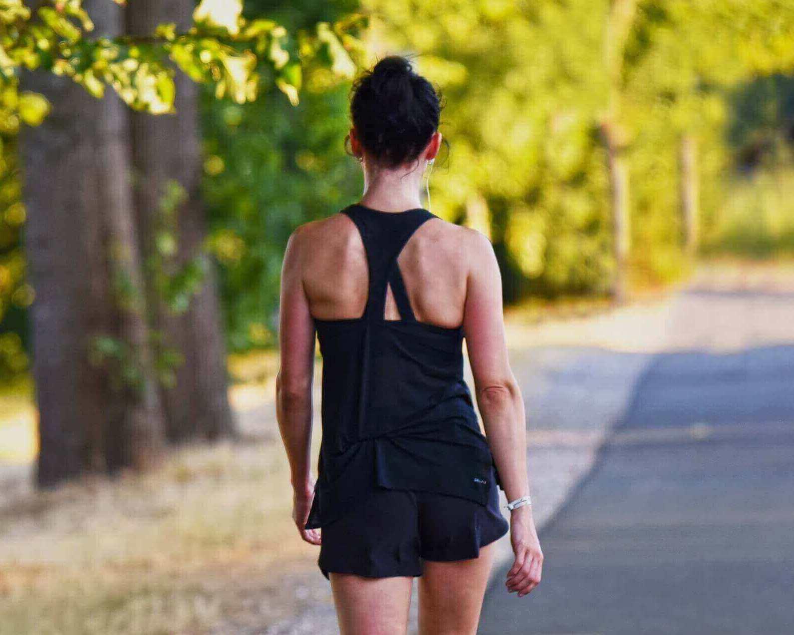 térdszorító futás