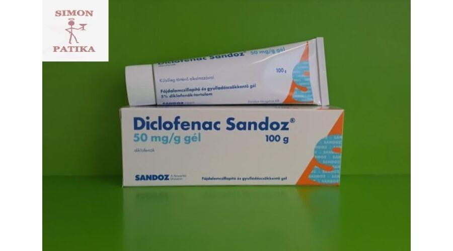 ízületi fájdalmak esetén diclofenac kenőcs