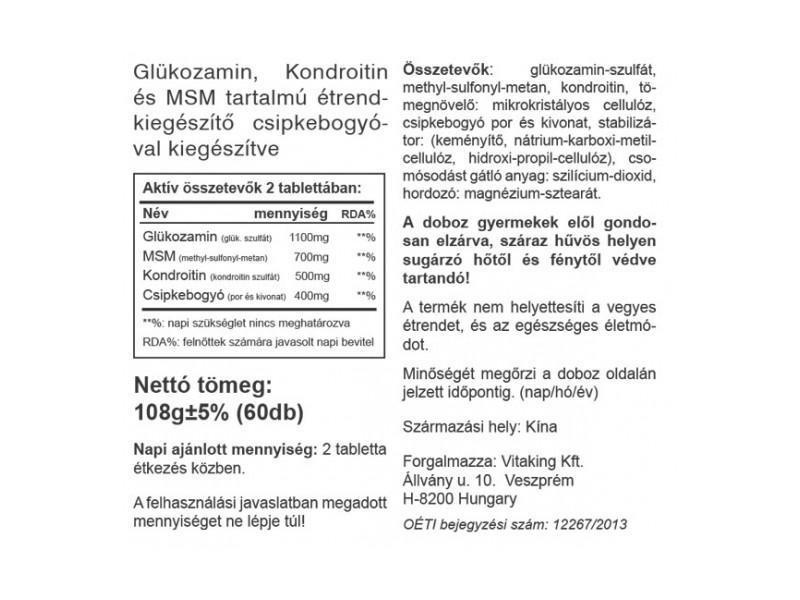 kondroitin gél összetétel)