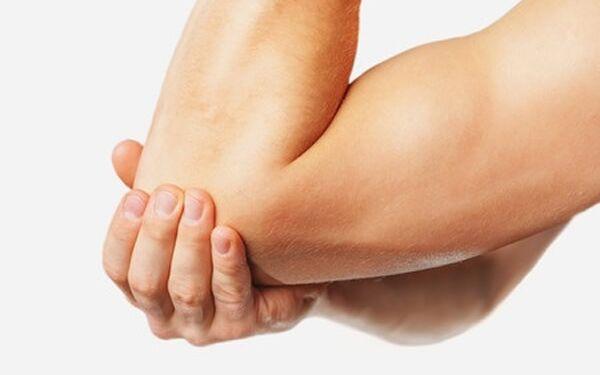 fáj a kar a könyökízület törése után