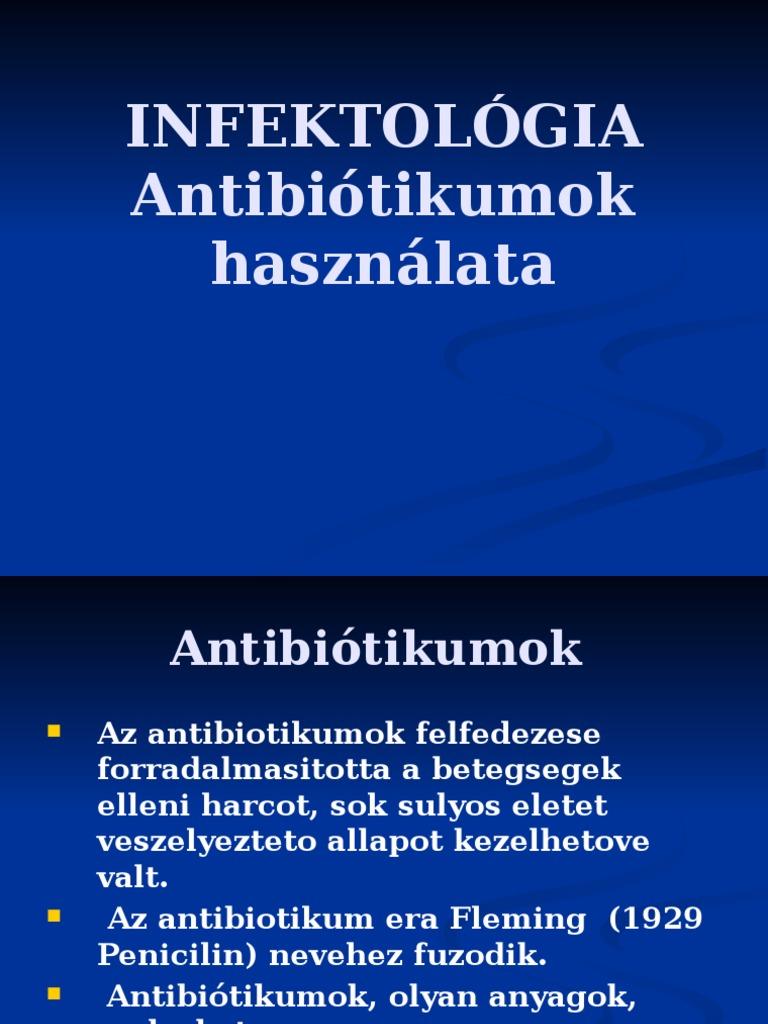 makrolid ízületi kezelés)