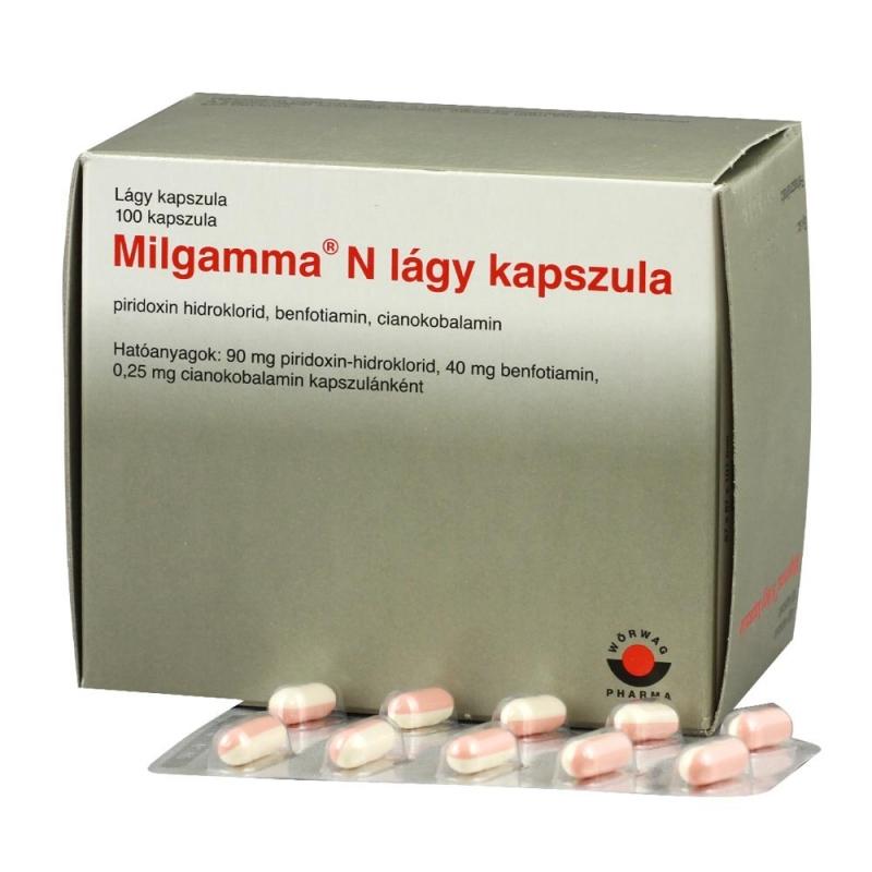 milgamma compositum ízületi fájdalmak kezelésére)